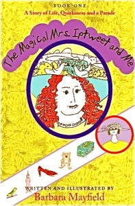 Written & illustrated by Barbara Mayfield. It's about creative play, intuition and Artist Mind for ages 7 and up.