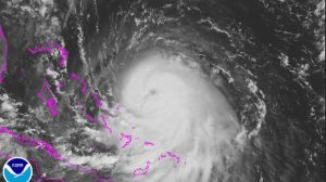 Hurricane Joaquin, blogger blogs anyway