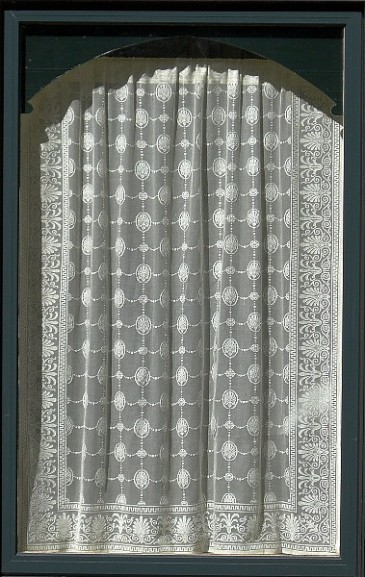 Lace served as screening before screens.
