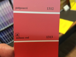 Milano red is my fave for today.