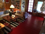 This red floor was my first color consultation. In New Mexico, it is still rockin' this room.