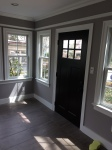 Farrow & Ball's Dove Tale for this sunroom.